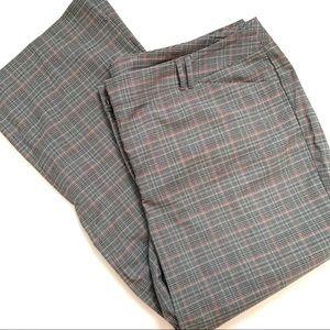 Lane Bryant Plaid Wide Leg Dress Pants Plus size